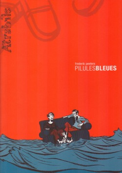 Pilules Bleues di Frederik Peeters: copertina